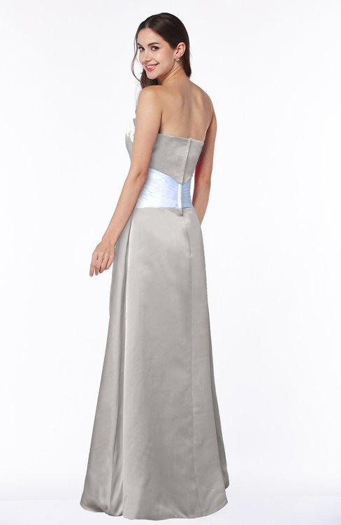 Colsbm Amalia Frost Grey Bridesmaid Dresses Colorsbridesmaid
