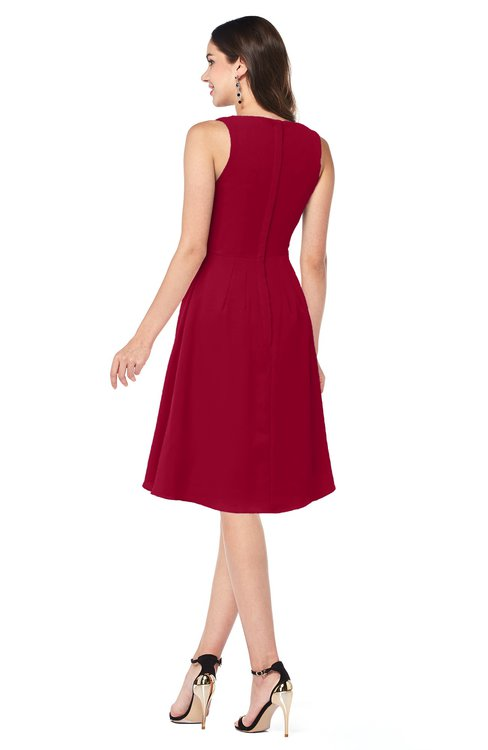 Colsbm Melissa Dark Red Bridesmaid Dresses Colorsbridesmaid