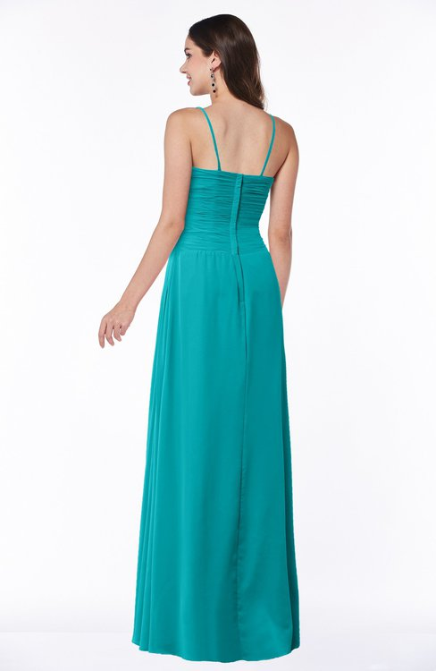 Colsbm Kaitlyn Peacock Blue Bridesmaid Dresses Colorsbridesmaid