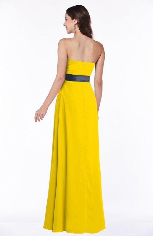 Colsbm Karlee Yellow Bridesmaid Dresses Colorsbridesmaid