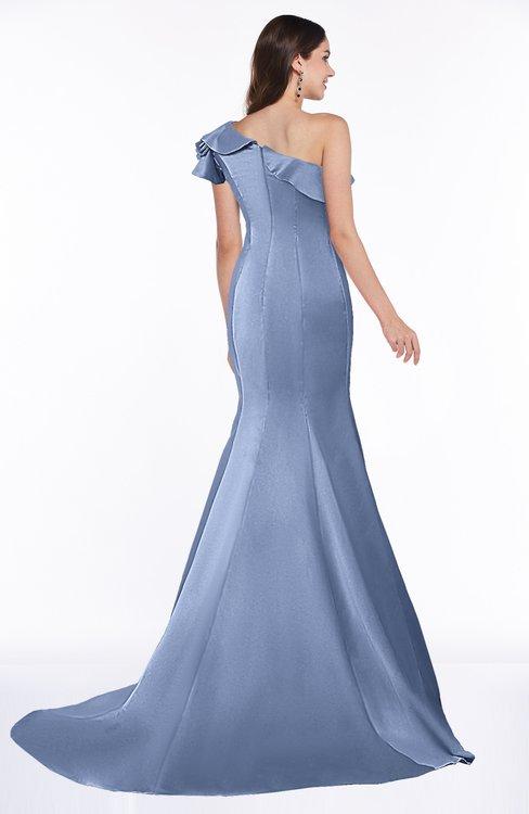 Fishtail Wedding Dress With Ruffles : Freesia elegant fishtail sleeveless zip up satin ruffles