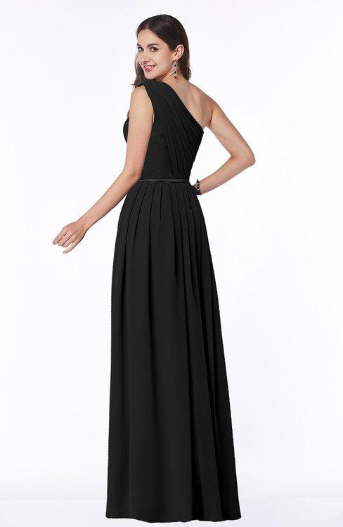 Colsbm Tiana Black Bridesmaid Dresses Colorsbridesmaid