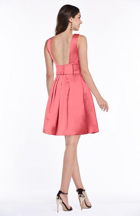 Colsbm Kassidy Hot Coral Bridesmaid Dresses