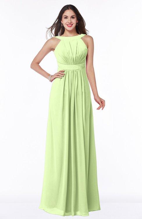 ColsBM Alicia Butterfly Glamorous A-line Thick Straps Sleeveless Chiffon Sash Plus Size Bridesmaid Dresses