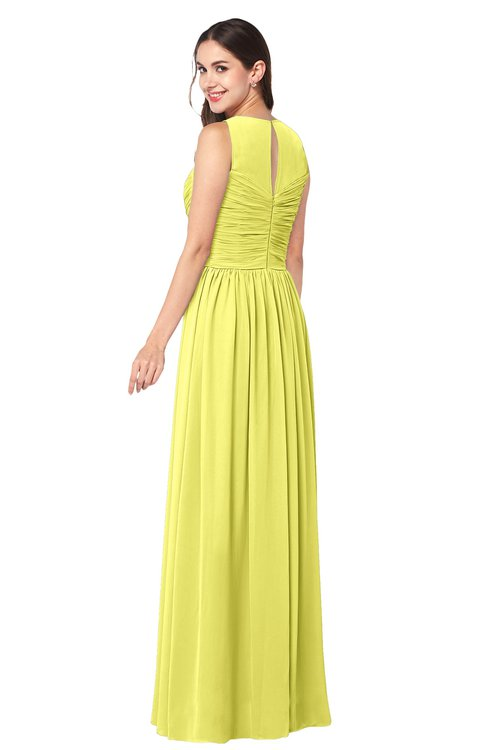 Yellow Plus Size Bridesmaid Dresses 60