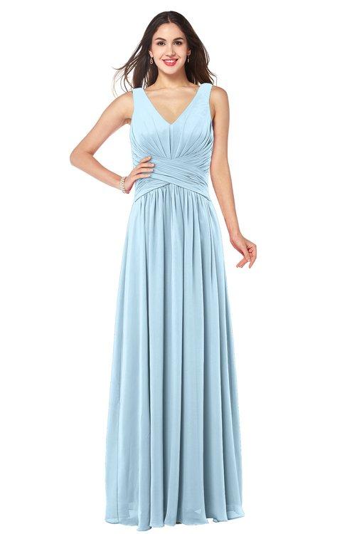 Colsbm Lucia Ice Blue Bridesmaid Dresses Colorsbridesmaid