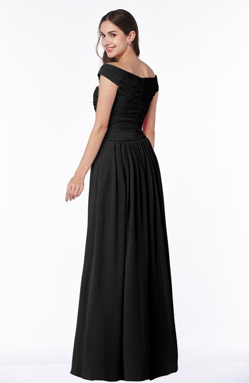 Colsbm Wendy Black Bridesmaid Dresses Colorsbridesmaid