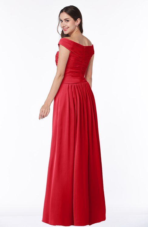 Colsbm Wendy Red Bridesmaid Dresses Colorsbridesmaid