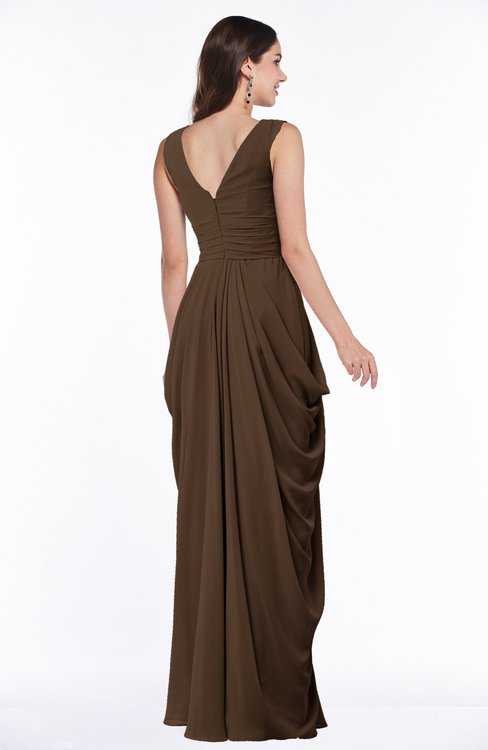 Colsbm Alice Chocolate Brown Bridesmaid Dresses Colorsbridesmaid