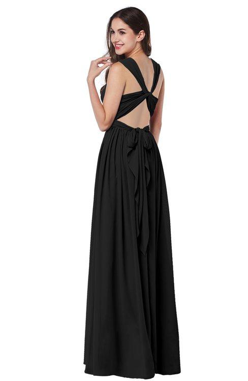 Colsbm Willa Black Bridesmaid Dresses Colorsbridesmaid