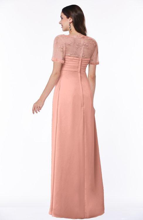 ColsBM Amanda Peach Bridesmaid Dresses - ColorsBridesmaid