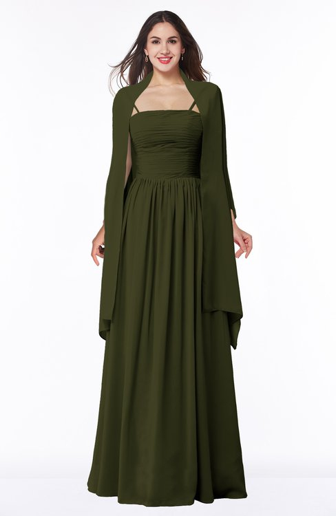 ColsBM Elyse Beech Traditional A-line Sleeveless Zip up Chiffon Floor Length Mother of the Bride Dresses