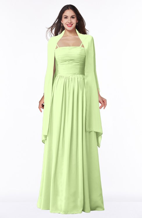 ColsBM Elyse Butterfly Traditional A-line Sleeveless Zip up Chiffon Floor Length Mother of the Bride Dresses