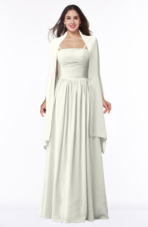 ColsBM Elyse Cream Traditional A-line Sleeveless Zip up Chiffon Floor Length Mother of the Bride Dresses