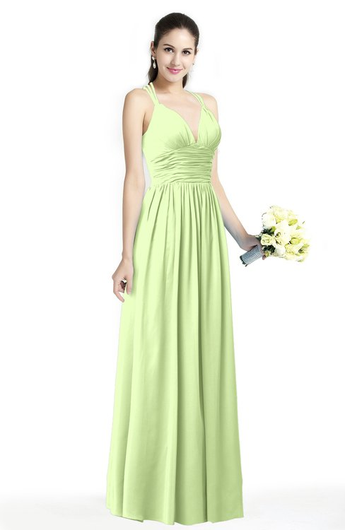 ColsBM Veronica Butterfly Simple A-line Sleeveless Zipper Chiffon Sash Plus Size Bridesmaid Dresses