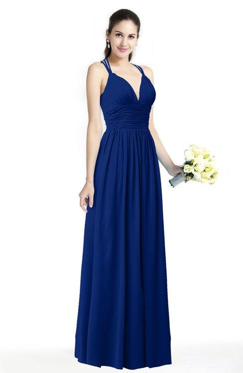 Colsbm Veronica Sodalite Blue Bridesmaid Dresses Colorsbridesmaid