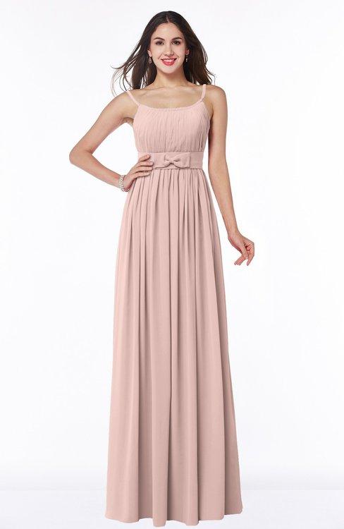 838210c496d ColsBM Shanon Dusty Rose Modern A-line Spaghetti Sleeveless Chiffon Plus  Size Bridesmaid Dresses