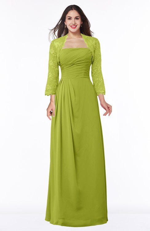 ColsBM Camila Green Oasis Modest Strapless Zip up Floor Length Lace Mother of the Bride Dresses
