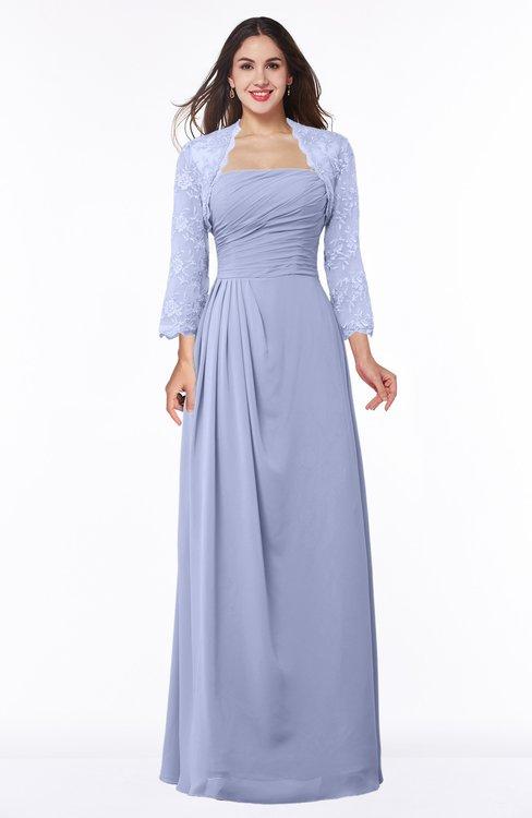 ColsBM Camila Lavender Modest Strapless Zip up Floor Length Lace Mother of the Bride Dresses