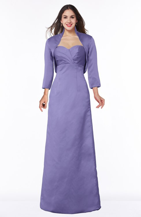 ColsBM Erica Aster Purple Traditional Criss-cross Straps Satin Floor Length Pick up Mother of the Bride Dresses