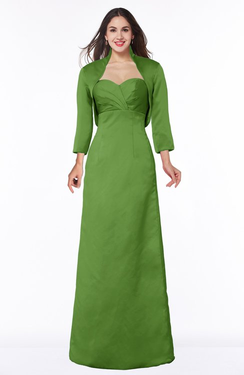 ColsBM Erica Clover Traditional Criss-cross Straps Satin Floor Length Pick up Mother of the Bride Dresses