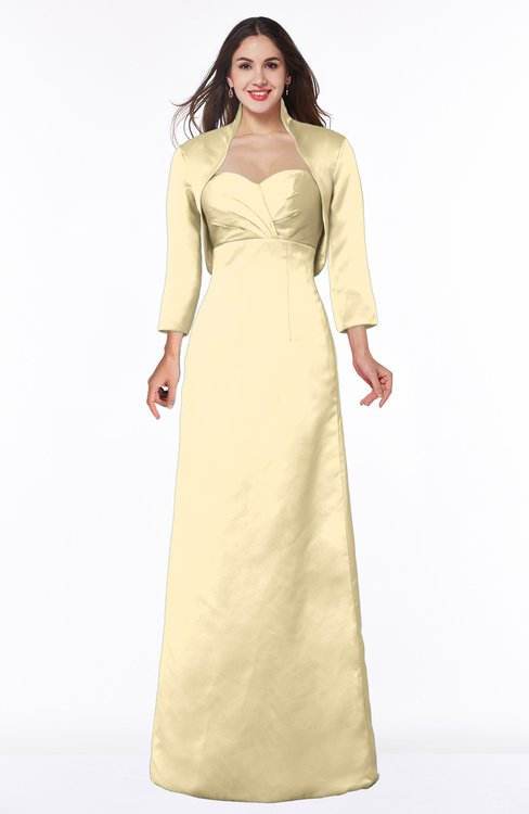 ColsBM Erica Cornhusk Traditional Criss-cross Straps Satin Floor Length Pick up Mother of the Bride Dresses