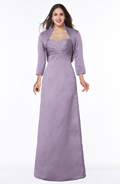 ColsBM Erica Mauve Traditional Criss-cross Straps Satin Floor Length Pick up Mother of the Bride Dresses