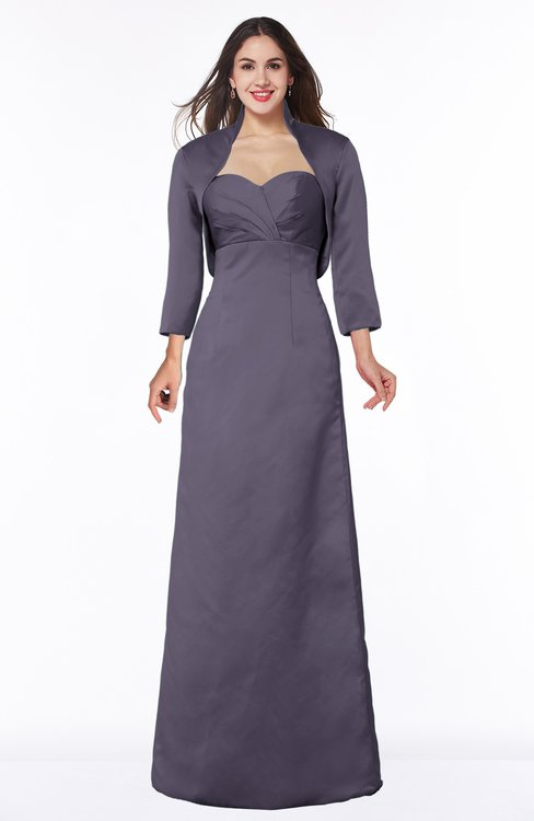 ColsBM Erica Mulled Grape Traditional Criss-cross Straps Satin Floor Length Pick up Mother of the Bride Dresses