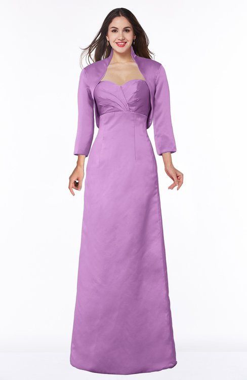 ColsBM Erica Orchid Traditional Criss-cross Straps Satin Floor Length Pick up Mother of the Bride Dresses