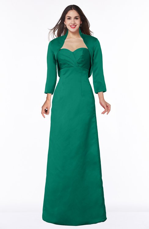 ColsBM Erica Pepper Green Traditional Criss-cross Straps Satin Floor Length Pick up Mother of the Bride Dresses