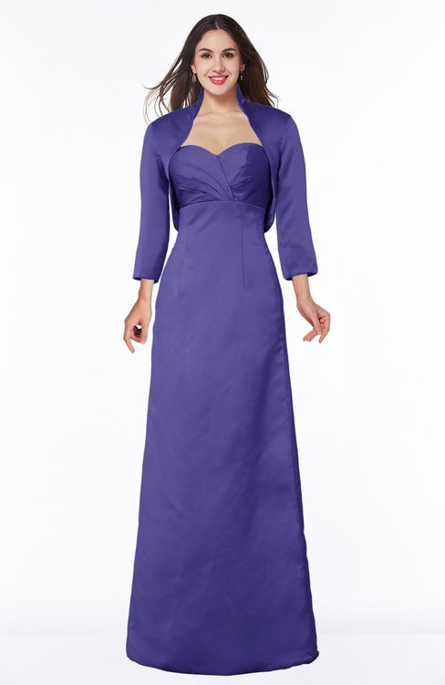 ColsBM Erica Purple Traditional Criss-cross Straps Satin Floor Length Pick up Mother of the Bride Dresses