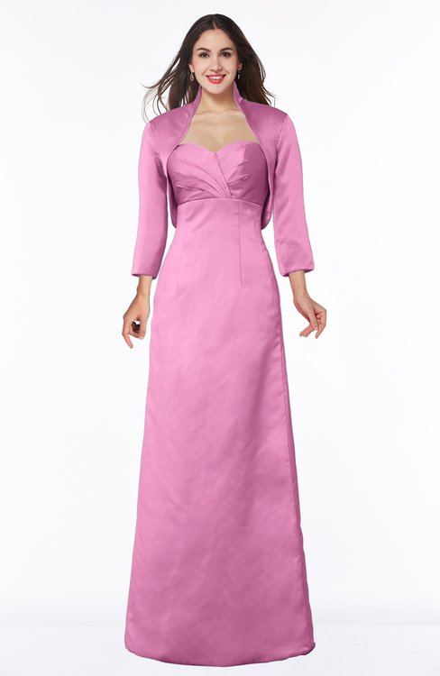 ColsBM Erica Rosebloom Traditional Criss-cross Straps Satin Floor Length Pick up Mother of the Bride Dresses
