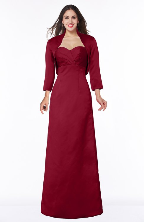ColsBM Erica Scooter Traditional Criss-cross Straps Satin Floor Length Pick up Mother of the Bride Dresses