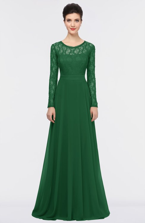 ColsBM Shelly Eden Romantic A-line Long Sleeve Floor Length Lace Bridesmaid Dresses