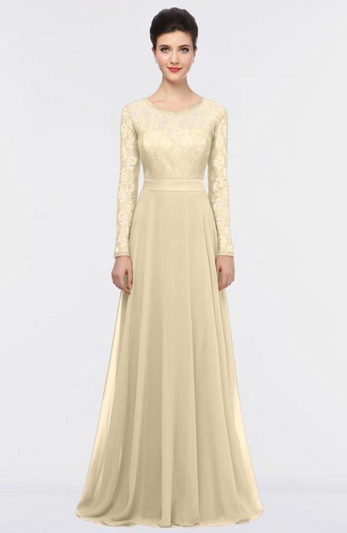 ColsBM Shelly Navajo Romantic A-line Long Sleeve Floor Length Lace Bridesmaid Dresses