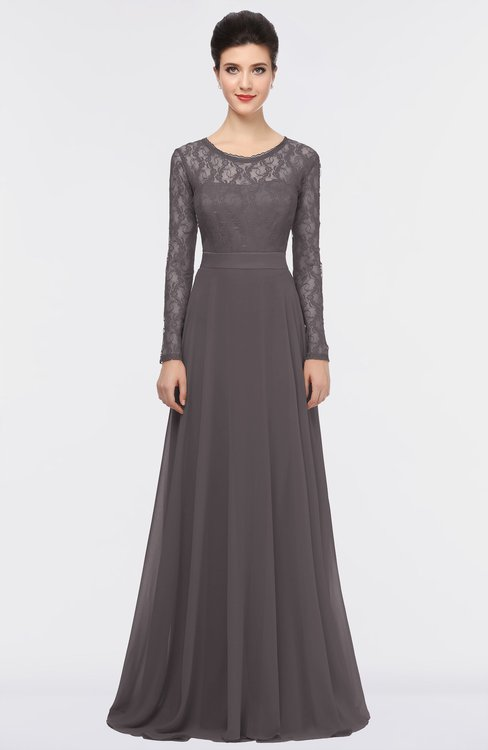 ColsBM Shelly Sparrow Romantic A-line Long Sleeve Floor Length Lace Bridesmaid Dresses