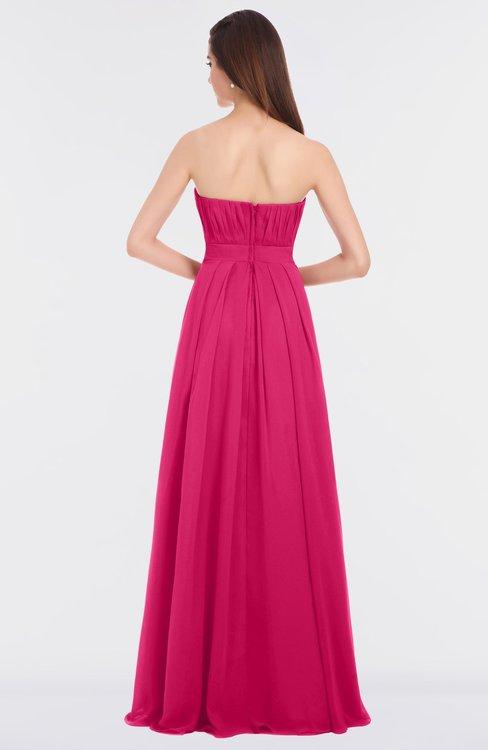 8c60ad86a48 ... ColsBM Claire Fuschia Elegant A-line Strapless Sleeveless Appliques  Bridesmaid Dresses