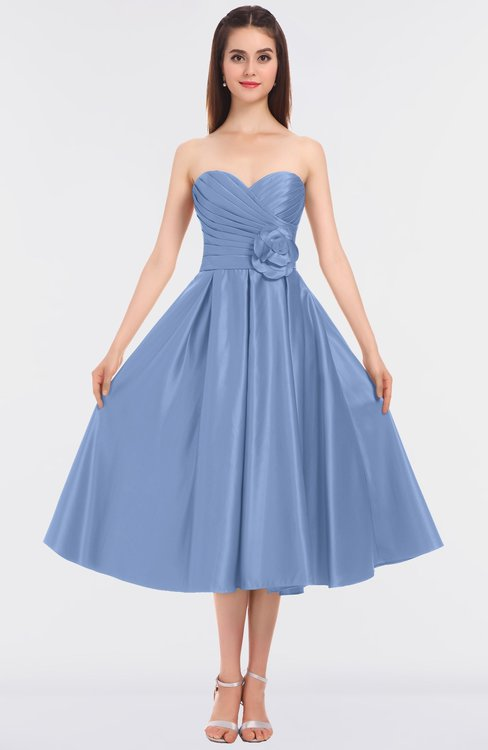 ColsBM Kallie Freesia Gorgeous A-line Strapless Sleeveless Flower Bridesmaid Dresses