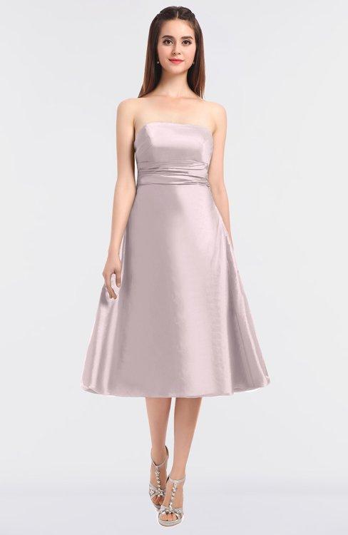 ColsBM Stacy Blush Elegant Ball Gown Bateau Sleeveless Zip up Ruching Bridesmaid Dresses