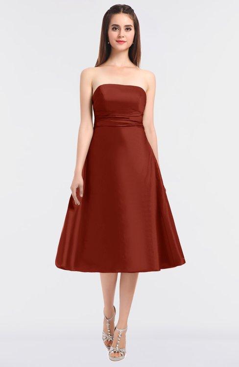 ColsBM Stacy Bossa Nova Elegant Ball Gown Bateau Sleeveless Zip up Ruching Bridesmaid Dresses