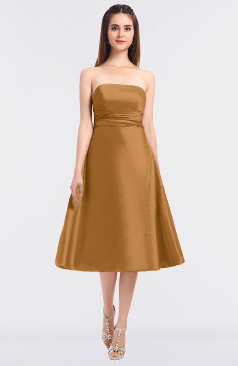 ColsBM Stacy Butterum Elegant Ball Gown Bateau Sleeveless Zip up Ruching Bridesmaid Dresses