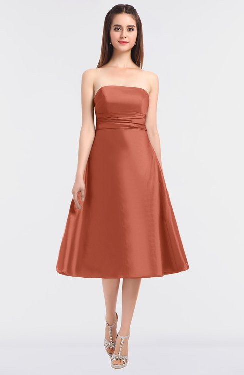 ColsBM Stacy Crabapple Elegant Ball Gown Bateau Sleeveless Zip up Ruching Bridesmaid Dresses