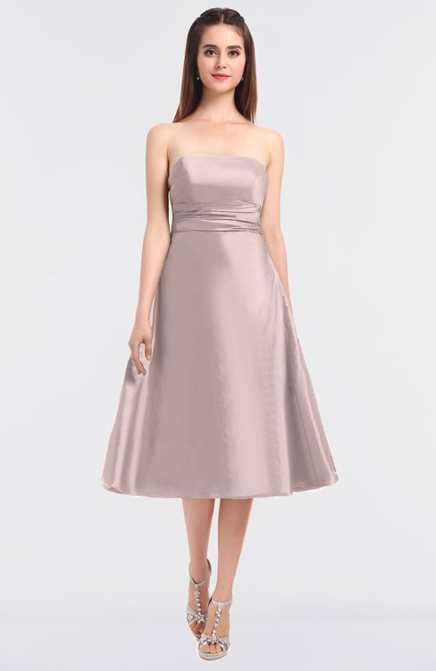 ColsBM Stacy Crystal Pink Elegant Ball Gown Bateau Sleeveless Zip up Ruching Bridesmaid Dresses