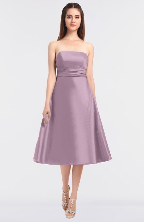 ColsBM Stacy Fragrant Lilac Elegant Ball Gown Bateau Sleeveless Zip up Ruching Bridesmaid Dresses