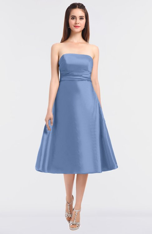 ColsBM Stacy Freesia Elegant Ball Gown Bateau Sleeveless Zip up Ruching Bridesmaid Dresses