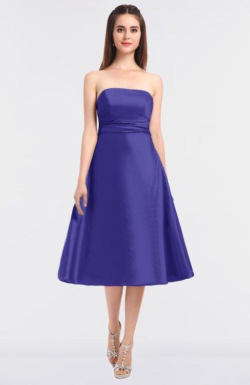 ColsBM Stacy Purple Opulence Elegant Ball Gown Bateau Sleeveless Zip up Ruching Bridesmaid Dresses