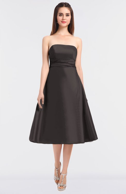 ColsBM Stacy Sparrow Elegant Ball Gown Bateau Sleeveless Zip up Ruching Bridesmaid Dresses