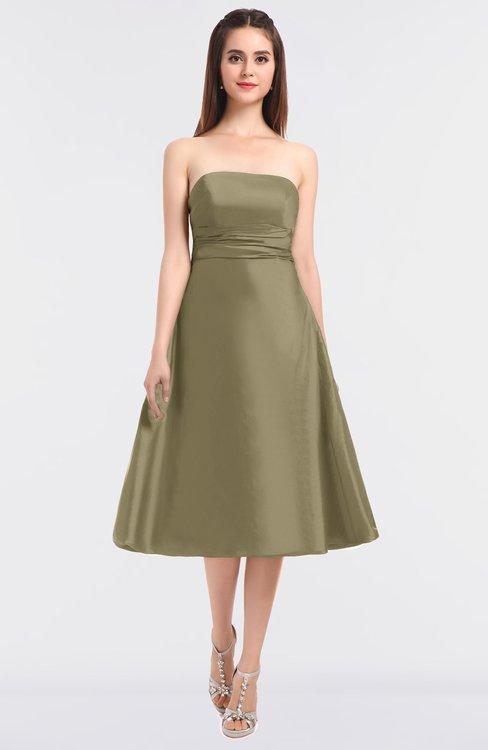 ColsBM Stacy Sponge Elegant Ball Gown Bateau Sleeveless Zip up Ruching Bridesmaid Dresses