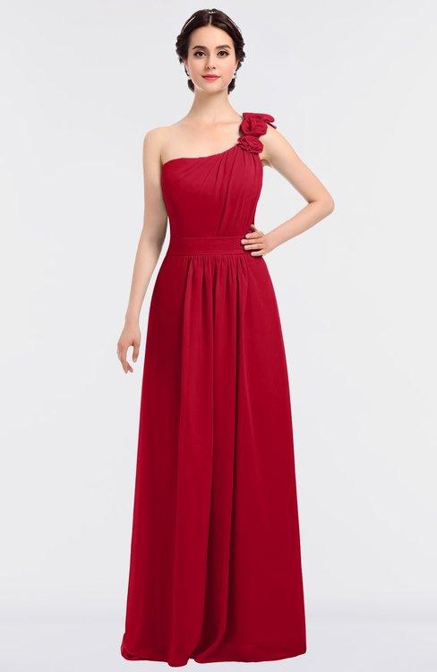 Floor Length Bridesmaid Dresses for Winter