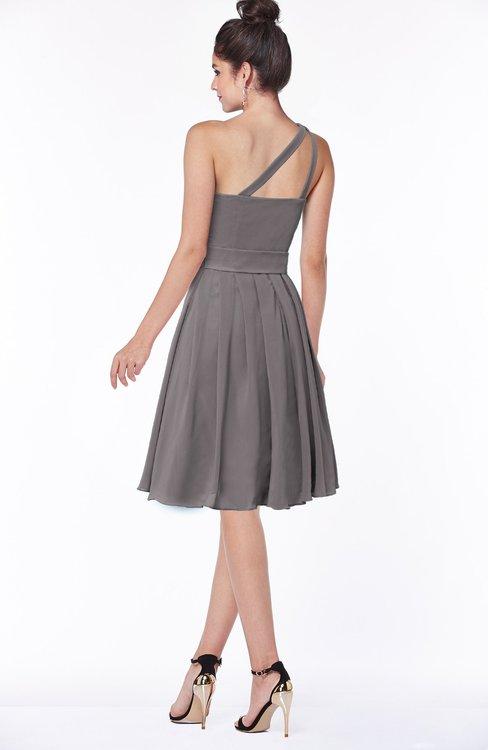 cdd8aab30a2d ... ColsBM Sophia Ridge Grey Cute A-line Sleeveless Chiffon Ruching  Bridesmaid Dresses